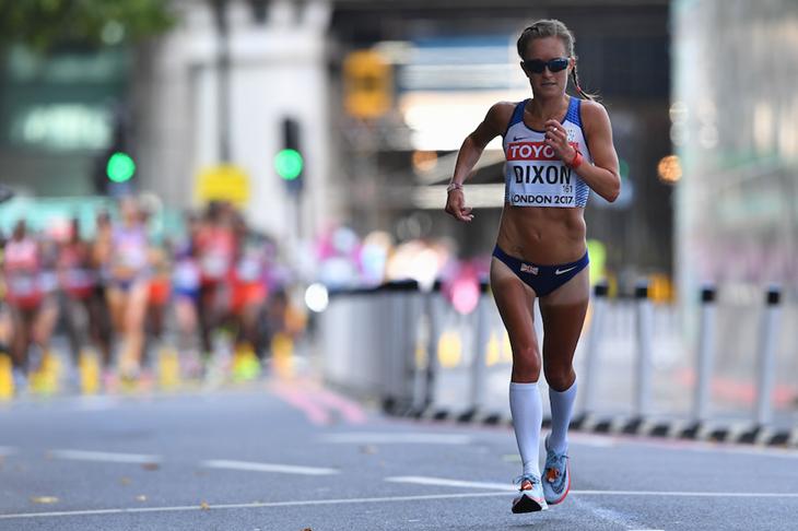 Aly Dixon London 2017 Marathon Lead ()