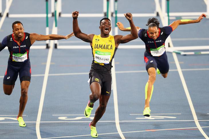 Omar McLeod Rio Win ()
