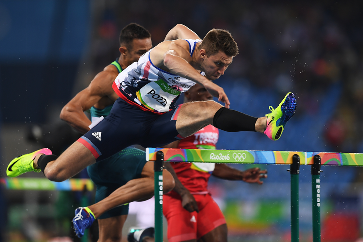 Andrew Pozzi competes at the Rio Olympics (Getty Images)