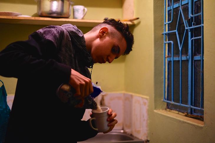 Julien Wanders living in Iten, Kenya (Thomas Gmür/ATHLE.ch)