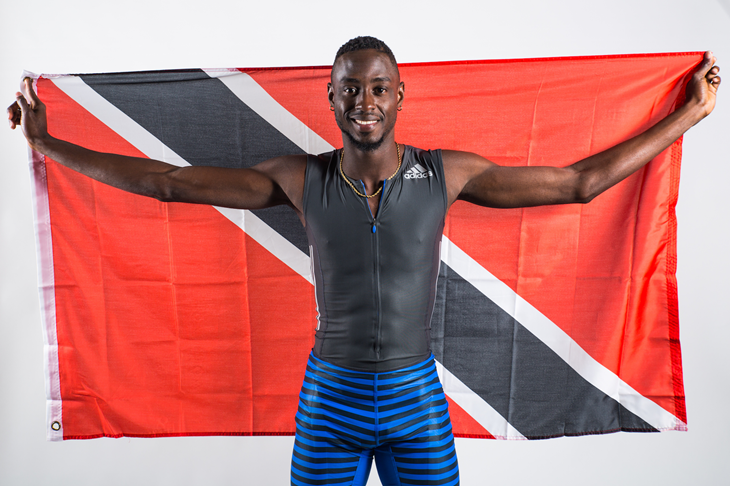 Jereem Richards Photoshoot I (Global Athletics)
