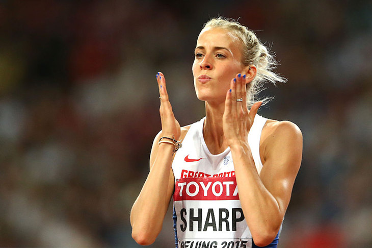 Lynsey Sharp at the 2015 Beijing World Championships (Getty Images)
