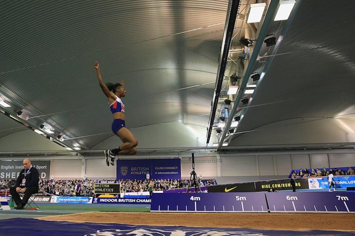 Lorraine Ugen British Indoor Championships 2016 ()