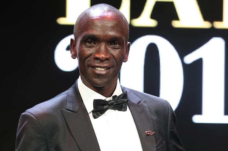 IAAF World Male Athlete of the Year Eliud Kipchoge (Giancarlo Colombo)