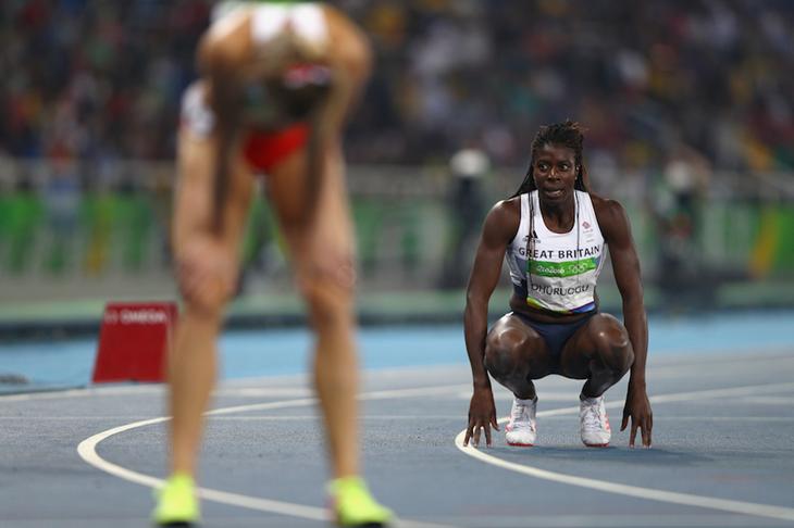 Christine Ohuruogu at the Rio Olympics (Getty Images)