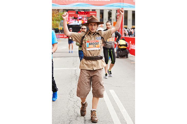 Zookeeper Toronto Waterfront Marathon ()