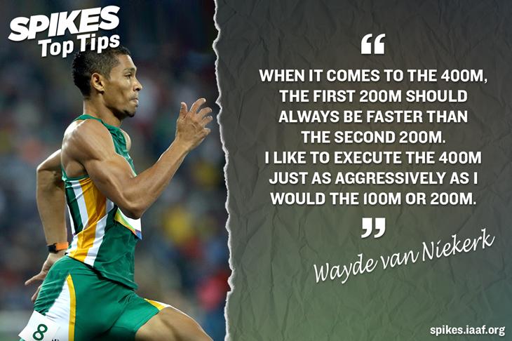 Wayde van Niekerk's Top Tips ()