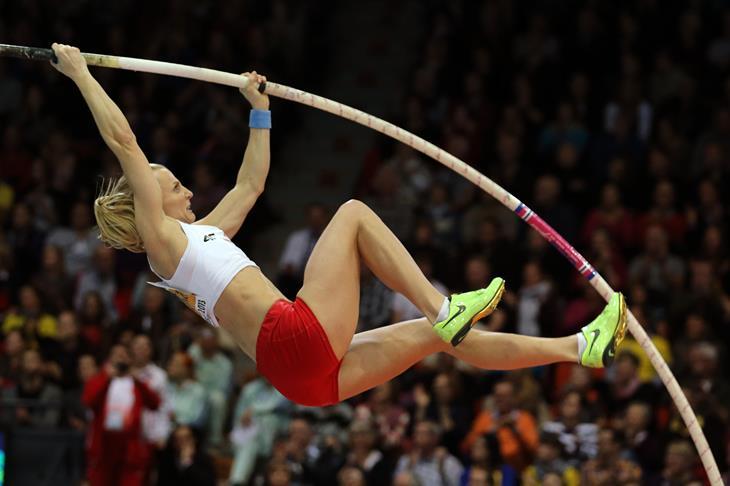 Anna Rogowska Polish pole vaulter ()