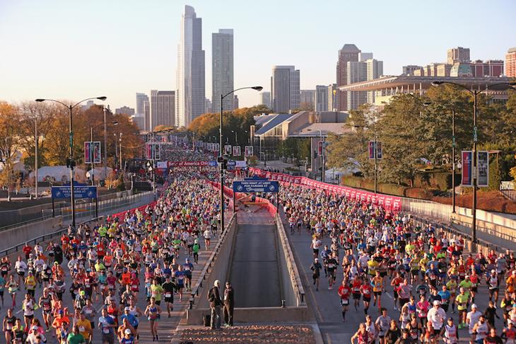 Chicago Marathon Mass ()
