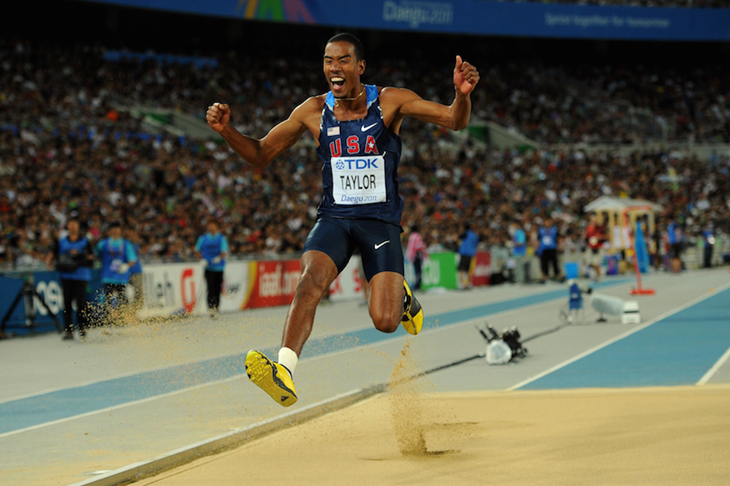 Christian Taylor Olympic ChampionSpikes Two Jump Time Triple wnkOP0