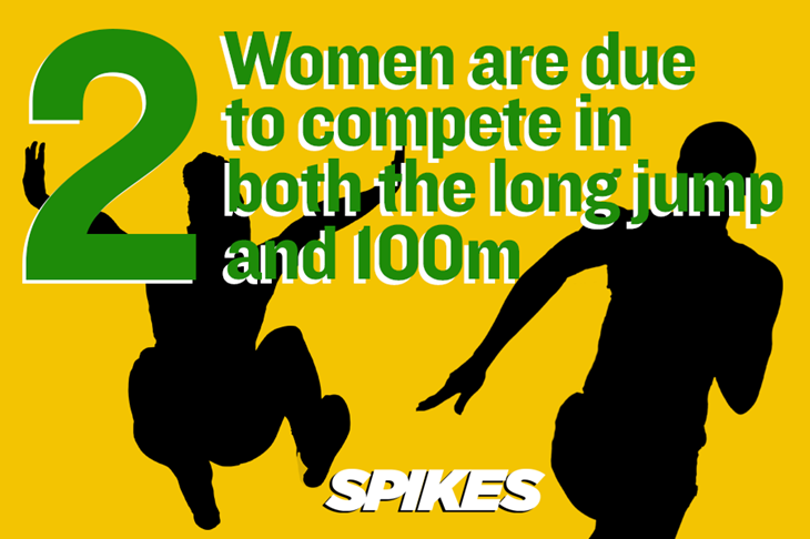 Rio Stats Sprint Long Jump ()