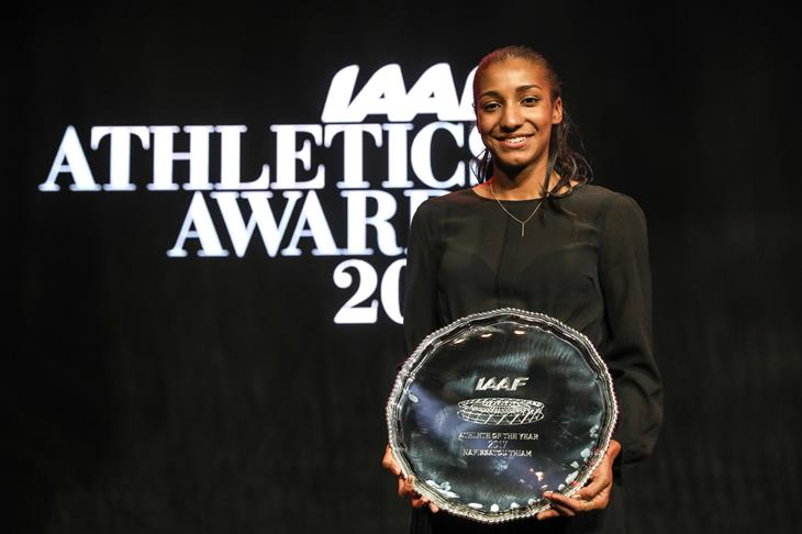 Nafi Thiam, 2017 IAAF World Athlete of the Year (Philippe Fitte)