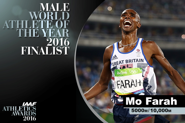 Mo Farah World Athlete of the Year Finalist ()