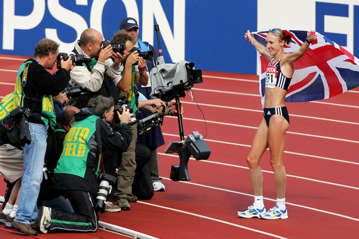 Paula Radcliffe Helsinki SPIKES ()