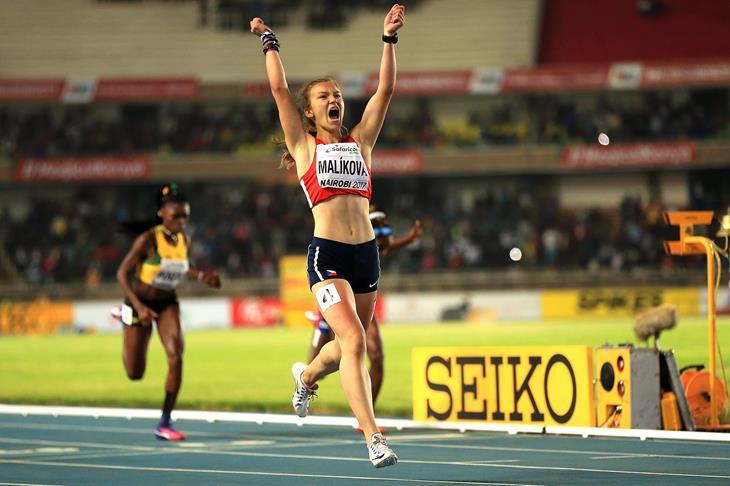 Barbora Malikova of the Czech Republic at the IAAF World U17 Championships Nairobi 2017 (Getty)