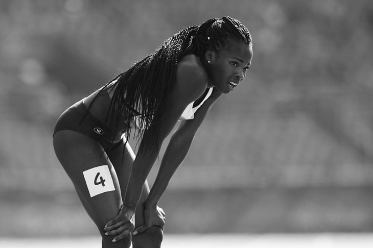 Cynthia Bolingo at the Rio Olympics (Getty Images)