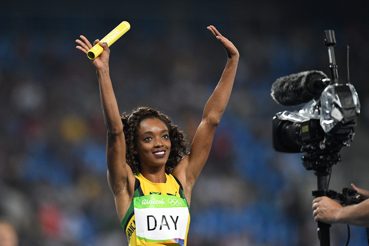 Christine Day during the 2016 Rio Olympics (Getty Images / AFP)