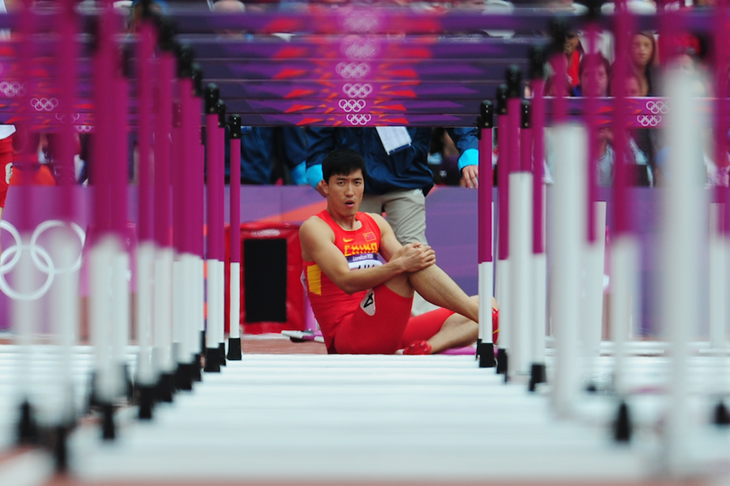 Liu Xiang London SPIKES ()