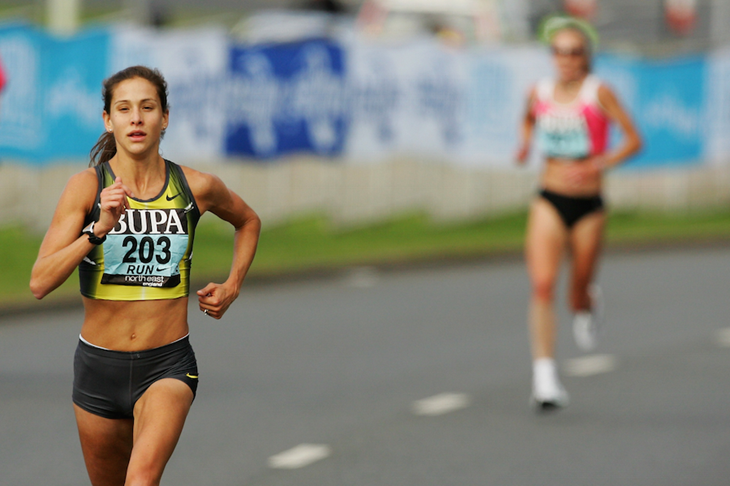 Kara Goucher Great North Run 2007 ()