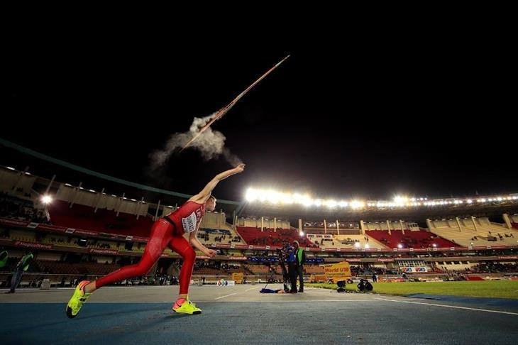 Krisjanis Suntazs in the javelin at the IAAF World U18 Championships Nairobi 2017 (Getty Images)