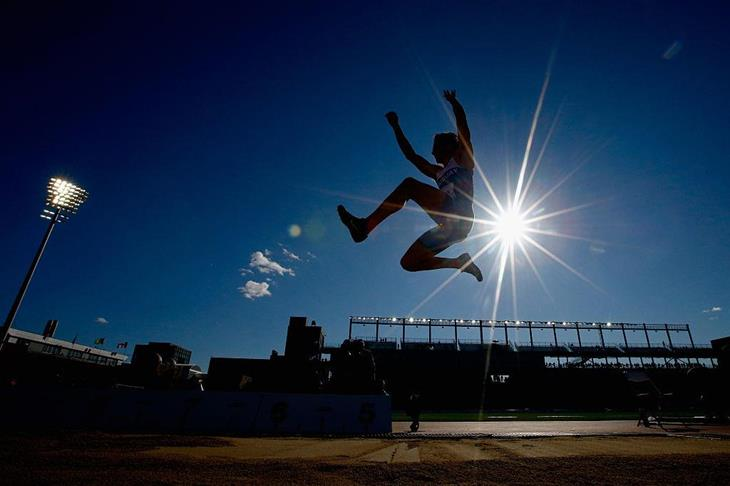 Emiliano Lasa competes in the 2015 Pan American Games (Getty Images)