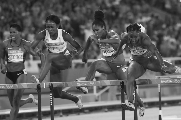 Women's 100m hurdles final Rio Olympics (Getty Images)