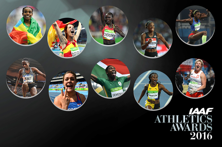 World Athlete of the Year Women's In their own Words ()