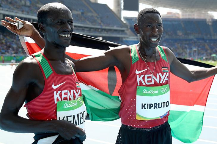 Ezekiel Kemboi Conseslus Kipruto Rio 2016 ()