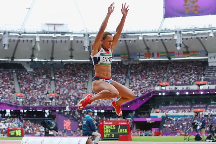 Jessica Ennis 2012 Long Jump ()