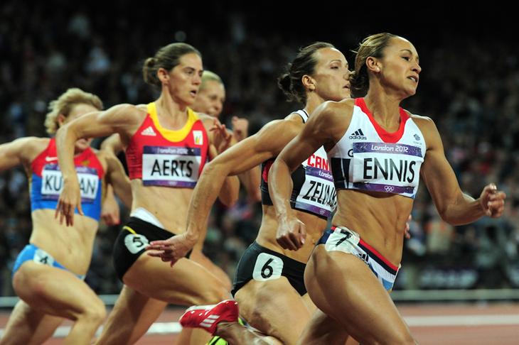 Jessica Ennis 2012 200m ()