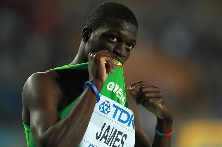 Kirani James 400m Olympic Champion Grenada ()