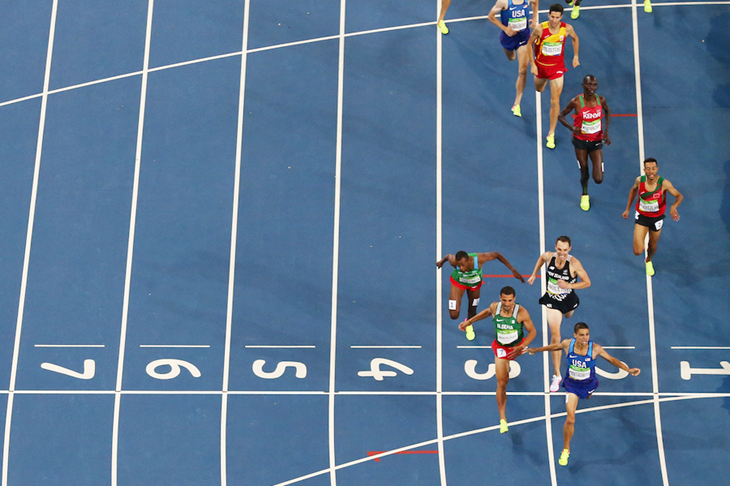 Men's 1500m 2016 Finish Line ()