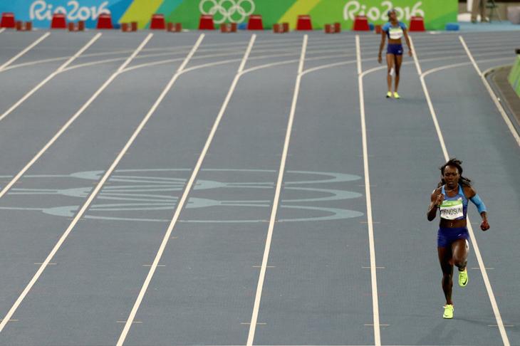 Re Run USA 4x100m Rio ()