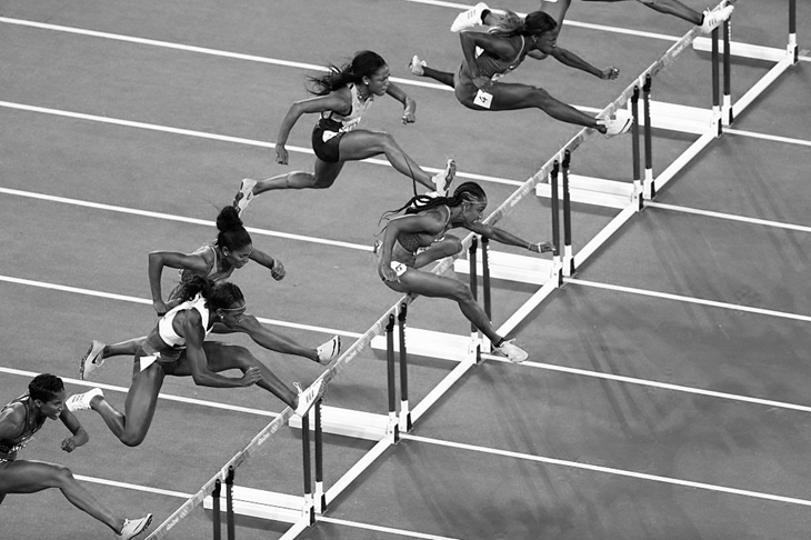 Women's 100m hurdles final Rio Olympics (AFP / Getty Images)
