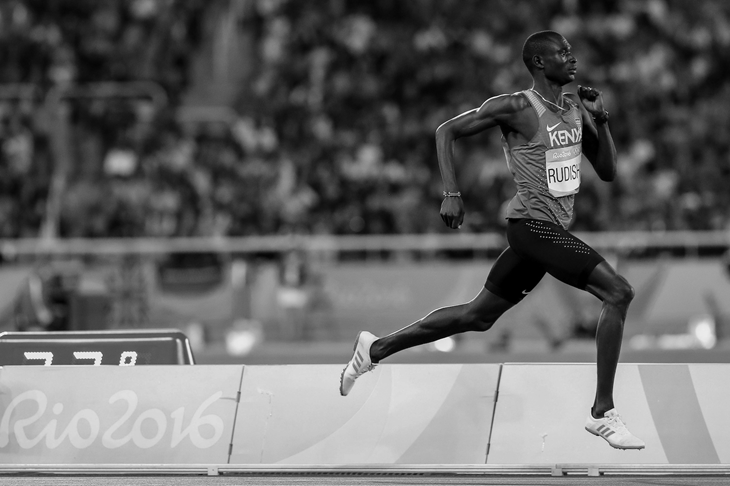 David Rudisha during the 2016 Rio Olympics (Getty Images)