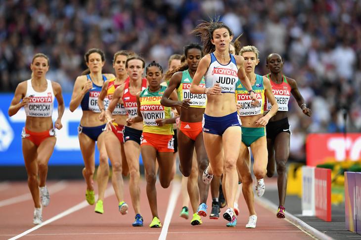 Jessica Judd London 2017 1500m Heat 1 ()