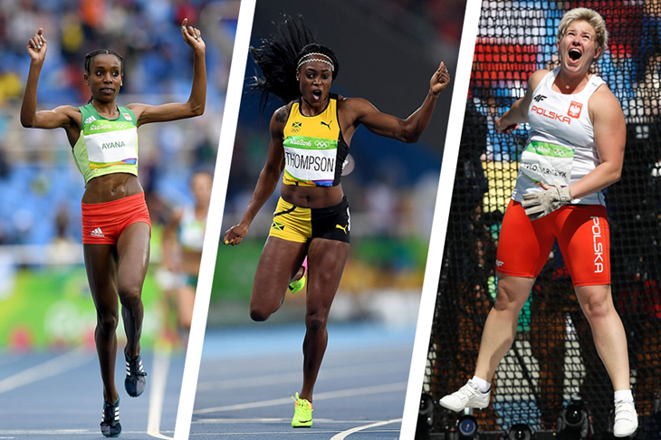 Female World Athlete of the Year Finalists ()