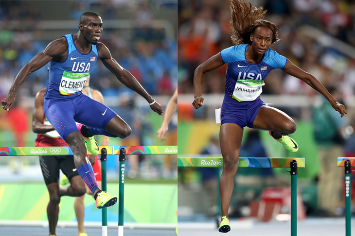 Kerron Clement and Dalilah Muhammad 2016 ()