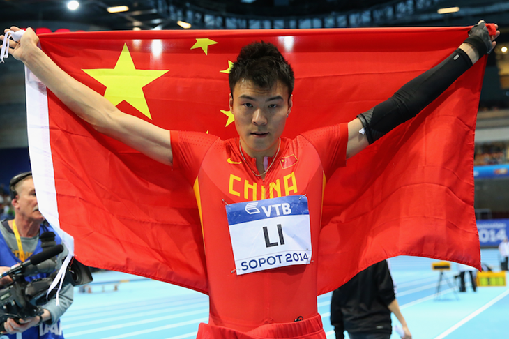 Li Jinzhe World Indoors SPIKES ()
