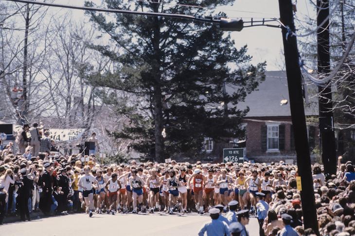 Boston Marathon 1980 (Getty Images)