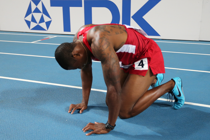 David Oliver World Champion SPIKES ()