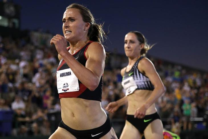 Shelby Houlihan winning the US title in 2017 (Getty Images)