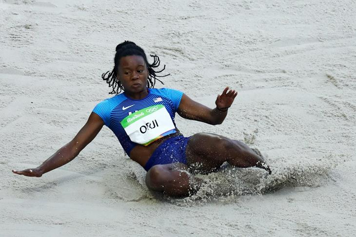 Keturah Orji competes at the 2016 Olympic Games (Getty Images)