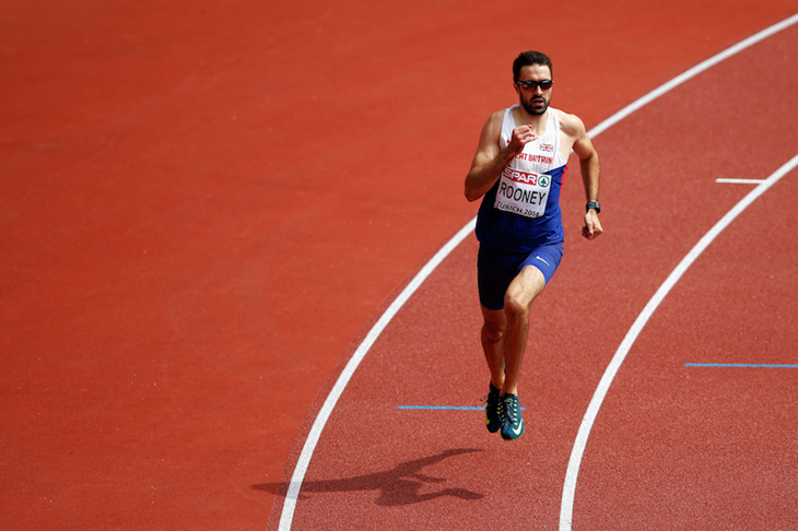 Martyn Rooney at the European Championships (Getty Images)
