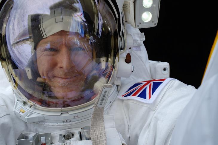 Major Tim Peake Selfie ()