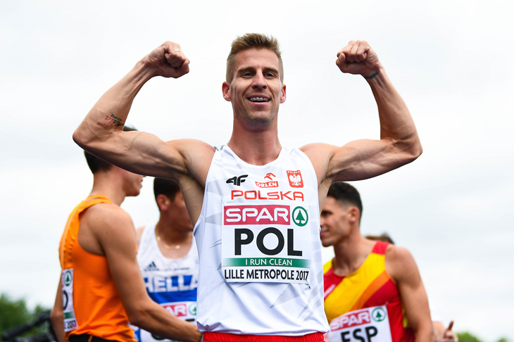 Marcin Lewandowski at the European Team Championships (Getty Images)
