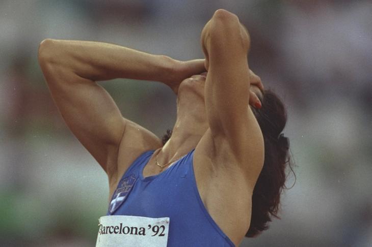 Paraskevi Patoulidou in Barcelona 1992 ()