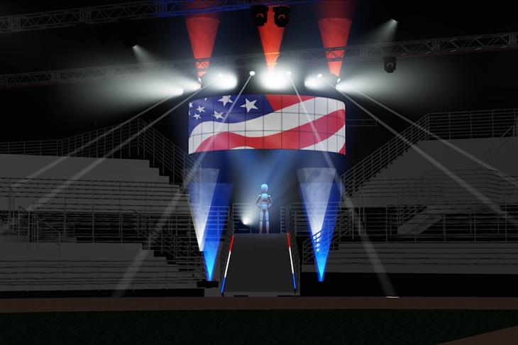 World Indoor Championships 2016 Entrance Rendering ()