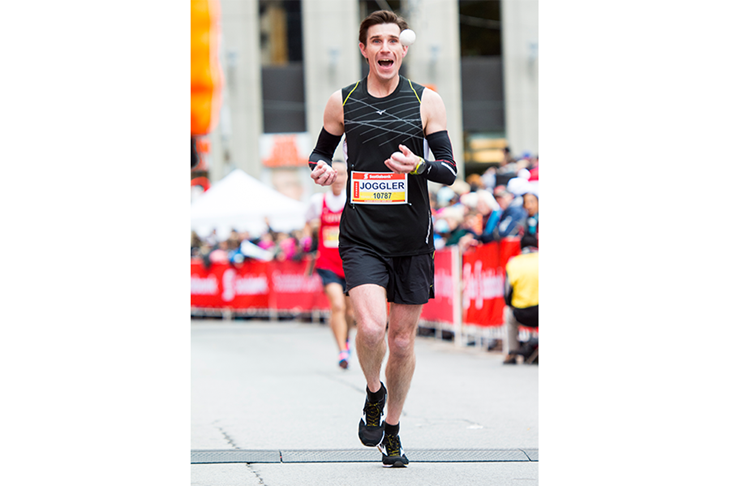 Joggler Toronto Waterfront Marathon ()