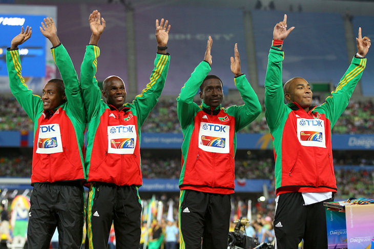 Kim Collins SPIKES relay ()